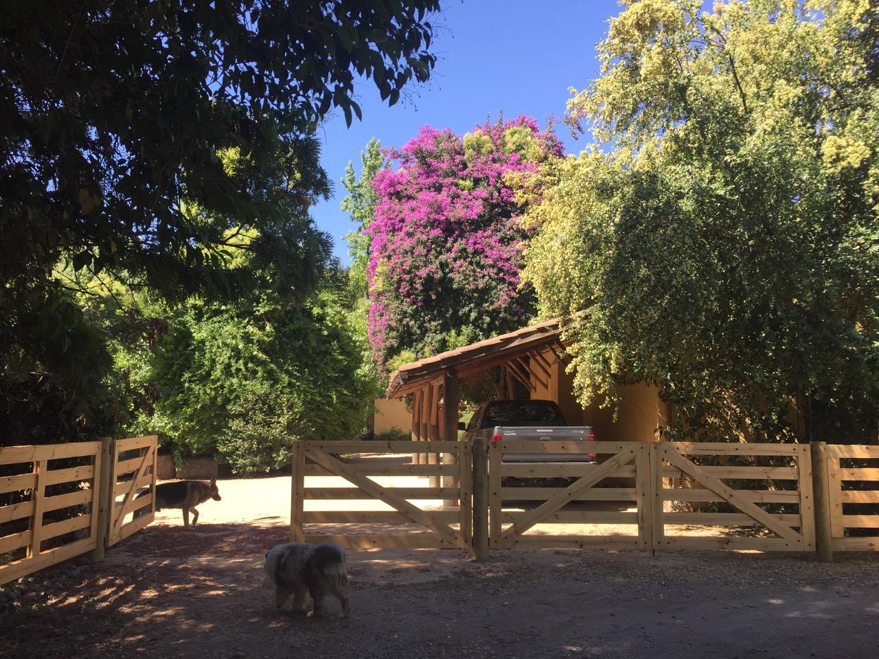 El Tambo ,Parcela con casa , huerto, laguna .